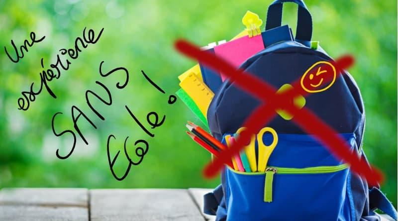 Vivre sans école