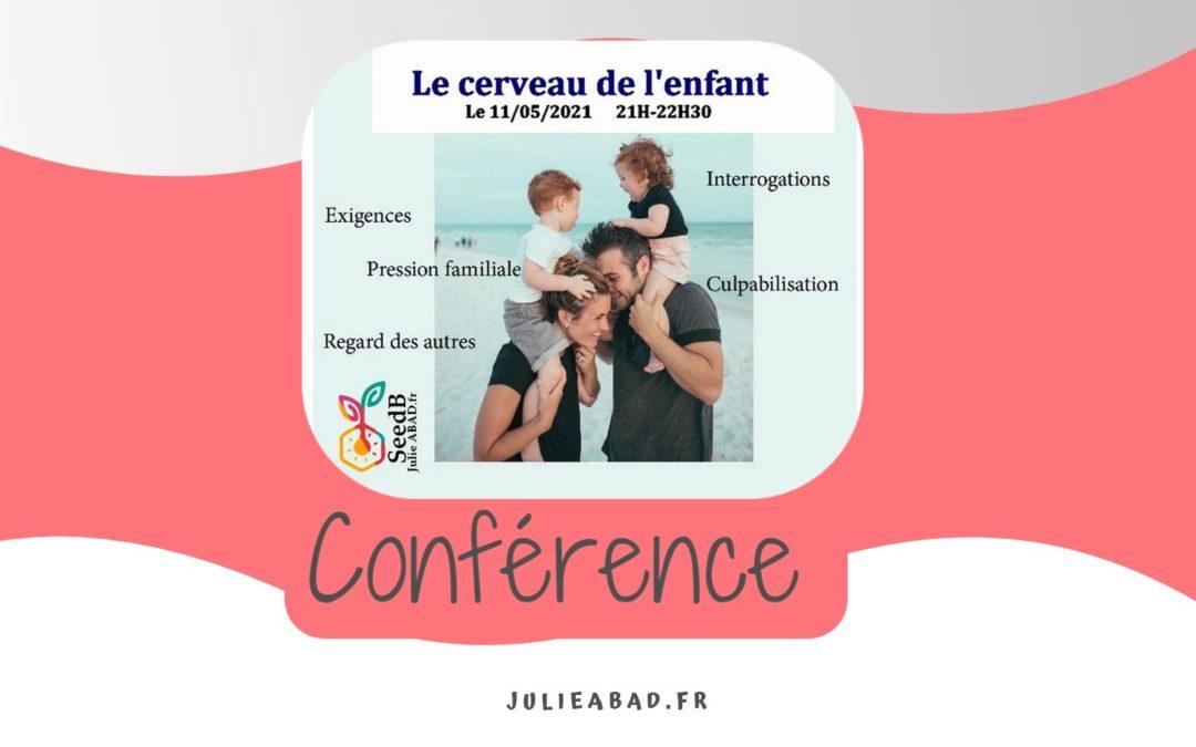 """Conférence : """"Le cerveau de l'enfant"""" SeedB Consultation"""